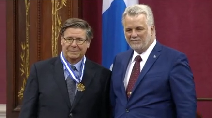 André Parent and Philippe Couillard