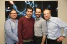 Patrick Desrosiers, Nicolas Doyon, Simon Hardy et Paul De Koninck - professeurs étoiles