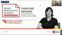 Biologie du stress et santé mentale - Caroline Ménard