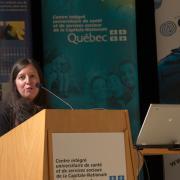 Caroline Ménard, qui joindra le Centre de recherche en 2018
